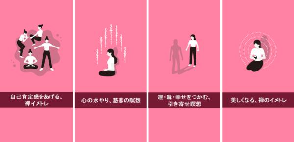 禅・瞑想アプリInTrip