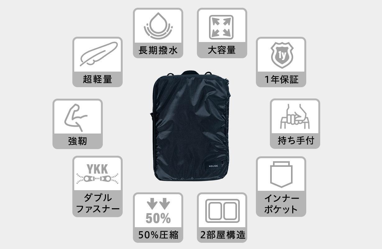 PackBagの特徴